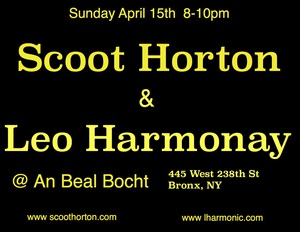 Scoot Horton and Leo Harmonay