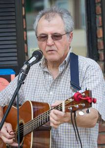 Phil Dollard at the Mamaroneck Farmers' Market