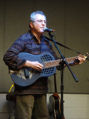 Phil Dollard at the Harrison Farmers' Market