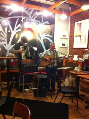 Phil Dollard and Judy Kass Two Singersongwriters Share the Stage