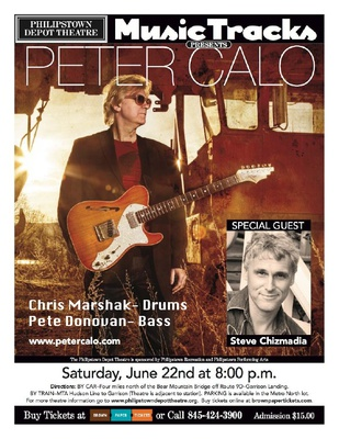 Peter Calo with special guest Steve Chizmadia
