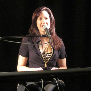 Elaine competes at the CT Folk Festival Grassy Hill Songwriting Competition