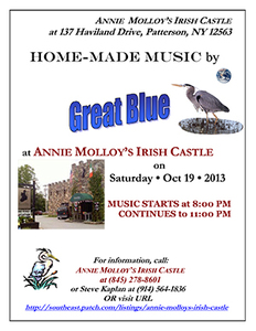 Poster for Great Blue  Annie Molloy039s Irish Castle