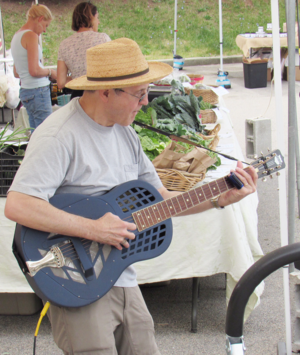 Phil Dollard at the Bedford Hills Farmers039 Market
