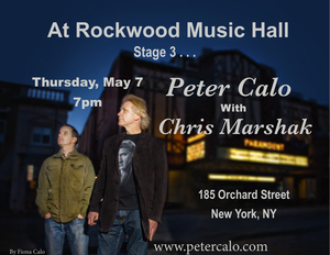 Peter Calo with Chris Marshak on Percussion