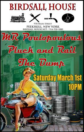 Pluck amp Rail MR Poulopoulos The Bump