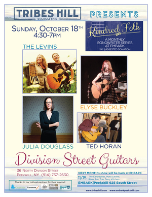 Tribes Hill Presents at Embark Peekskill Sunday October 18th