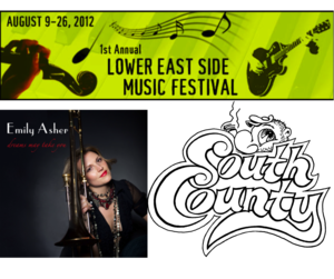 SOUTH COUNTY nbspthe Lower East Side Music Festival