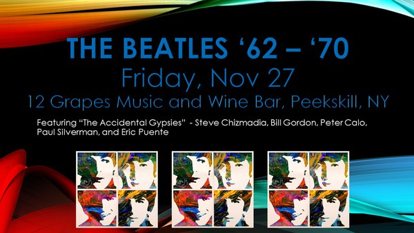 The Beatles 03962  03970 featuring Steve Chizmadia and The Accidental Gypsies