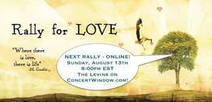 The Levins rally for LOVE nbspOnline and live