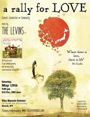The Levins concert a rally for LOVE