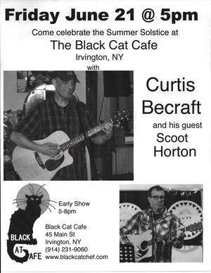 Curtis Becraft with special guests Scoot Horton Di Morgan and Tom from Nyack