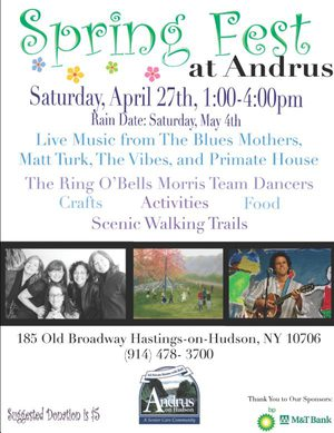 Springfest at Andrus on Hudson