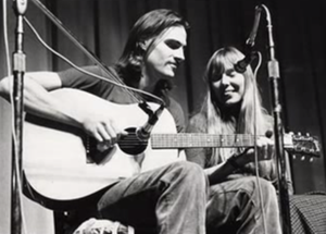Joni and James nbspThe Music of Joni Mitchell and James Taylor performed by nbspAnne Carpenter and Peter Calo