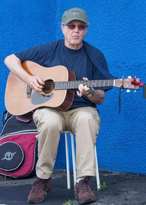 Phil Dollard at the Ossining Farmers' Market