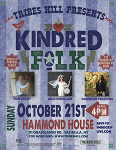 Tribes Hill Presents Kindred Folk  ONLY A FEW SEATS LEFT  RESERVE YOURS NOW