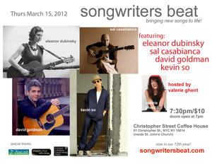 Val Ghent039s Songwriters Beat