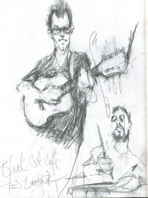 Sketch by Ted Berkowitz