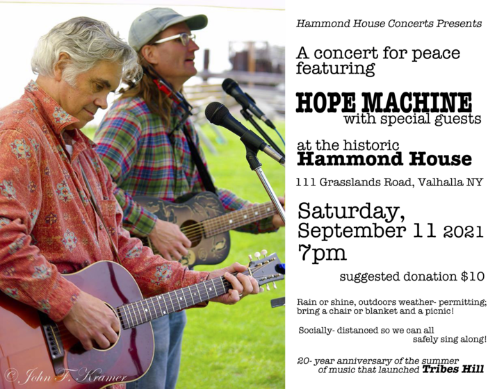 Hope Machine With Special Guests  A Concert For Peace