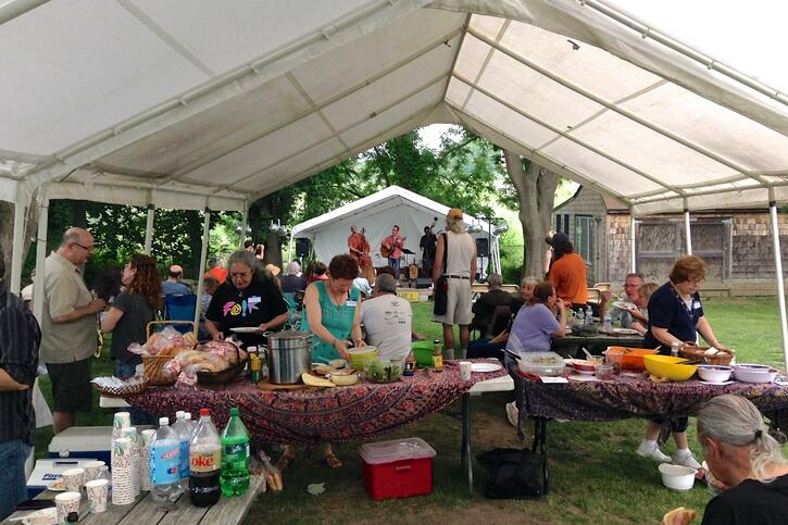 TRIBES HILL ANNUAL MEETING AND HOOTENANNY  SATURDAY JUNE 8TH