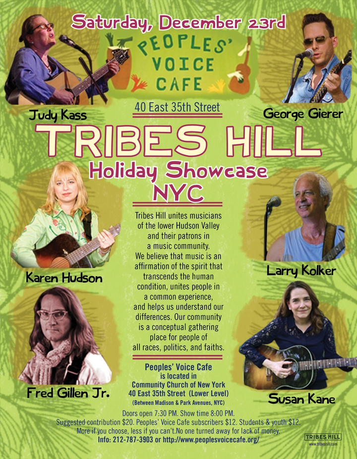 Tribes Hill Holiday Showcase at the People039s Voice Cafe