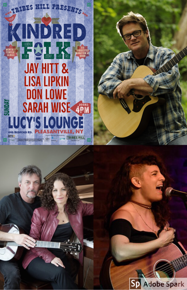 Tribes Hill Presents Kindred Folk at Lucy039s  Sunday April 15th