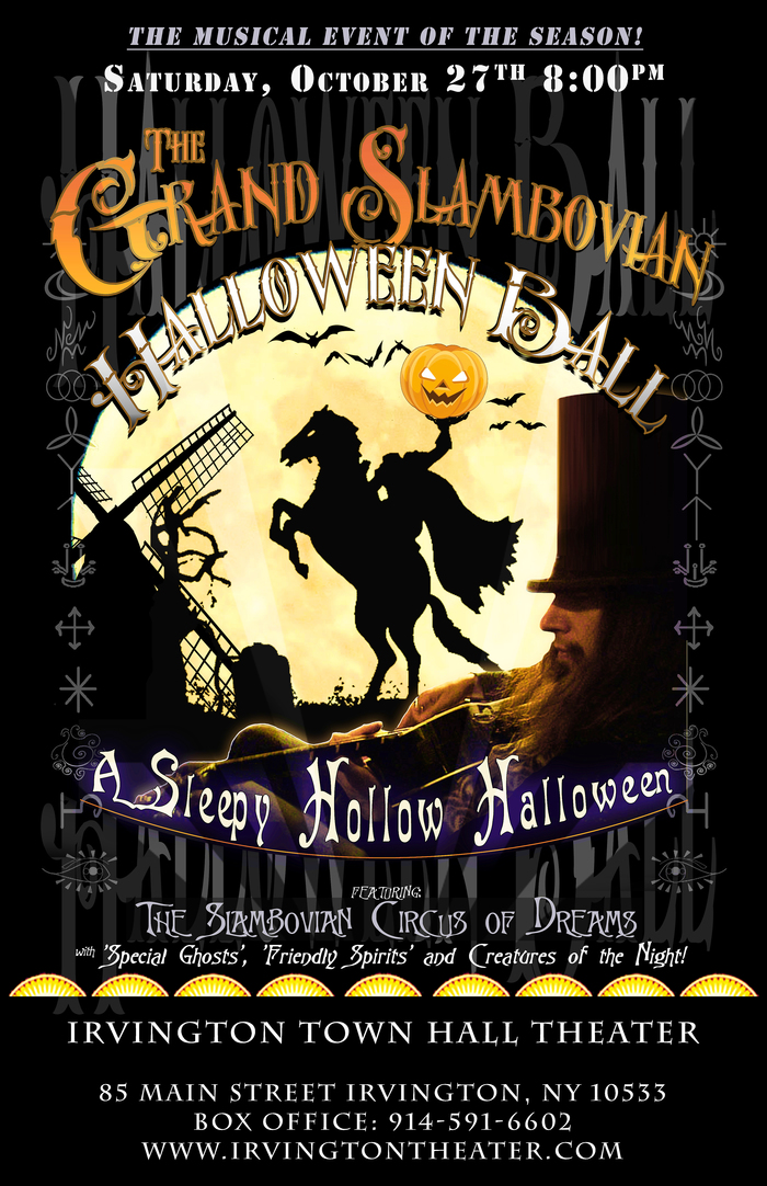 THE GRAND SLAMBOVIAN HALLOWEEN BALL  SATURDAY OCTOBER 27TH