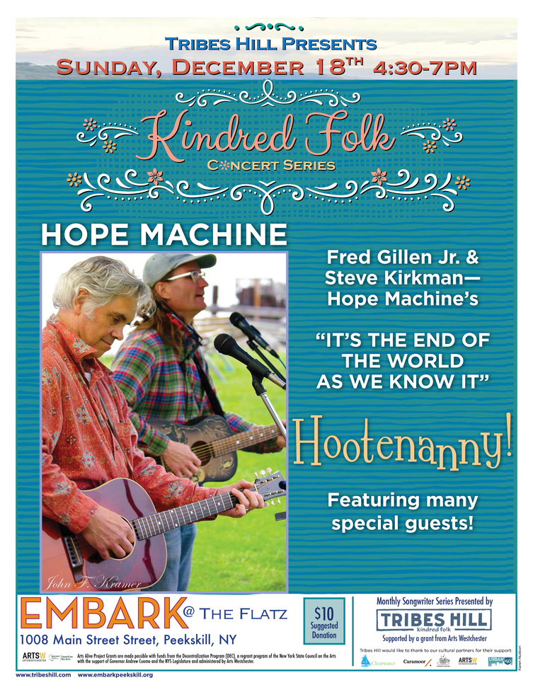 Tribes Hill Presents Kindred Folk at Embark - Sunday December 18th
