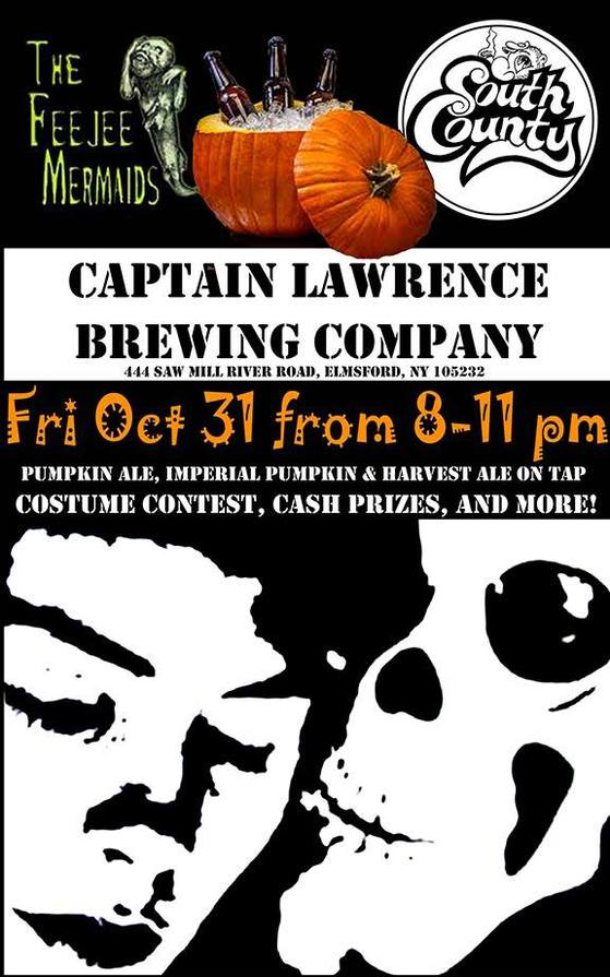 TRICK OR TREAT WITH YOUR TRIBES HILL FRIENDS AT CAPTAIN LAWRENCE & THE HAMMOND HOUSE ON HALLOWEEN NIGHT!!!
