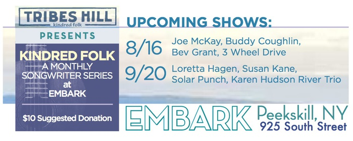 Tribes Hill Presents at Embark Peekskill  Upcoming Shows