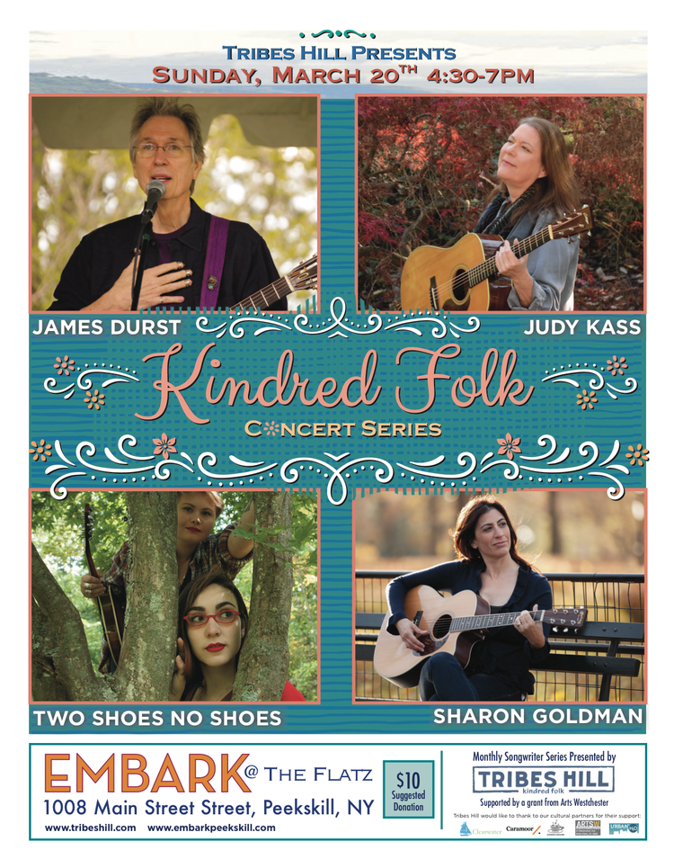 Tribes Hill Presents Kindred Folk at Embark  Sunday March 20