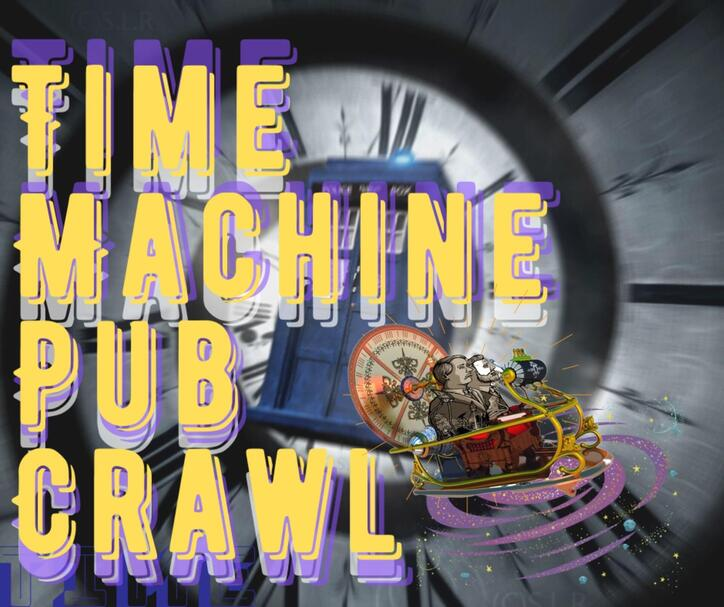 The Levins  Time Machine Pub Crawl Tuesday April 28th at 5pm